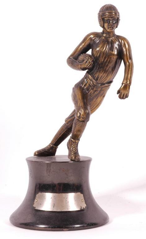 21: 1930's Football Metal Trophy