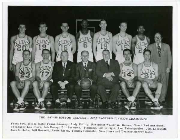 24: (8) 1956-1974 Celtics Team Issued 8 x 10 Photograp