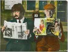 158: 1964 The Beatles Hard Days Night Lobby Card Origin