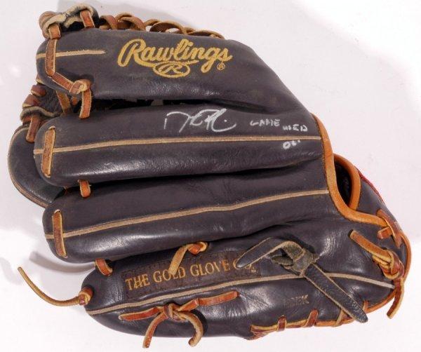 5: 2006 Dustin Pedroia Signed Game Used Baseball Glove