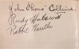 12: Autograph Album w/ Chuck Klein Shano Collins