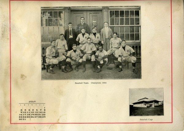 18: 1904 Wiliam Matthews Negro Baseball Photo Harvard