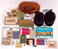 125: Horse Racing Memorabilia Collection (32 pcs)