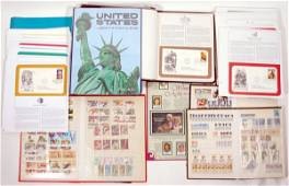141: Large Stamp Collection