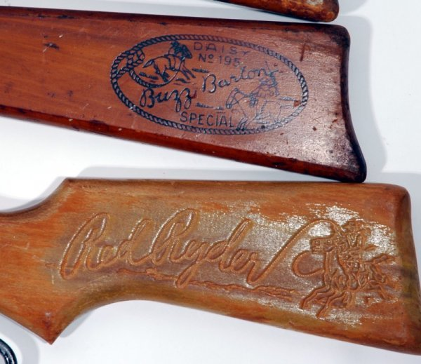 169: (5) 1950's Cowboy Western BB Gun's - 2