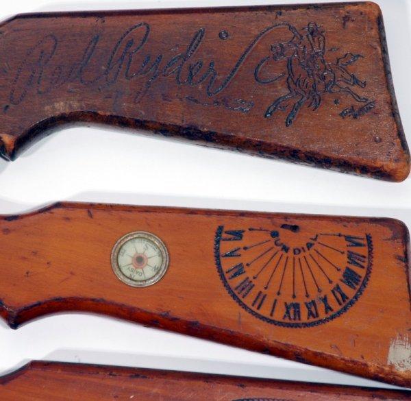 169: (5) 1950's Cowboy Western BB Gun's - 3