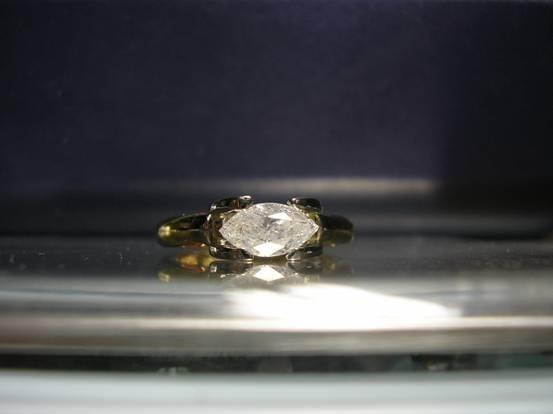1009: Diamond ring 1.01ct, G color, p2.