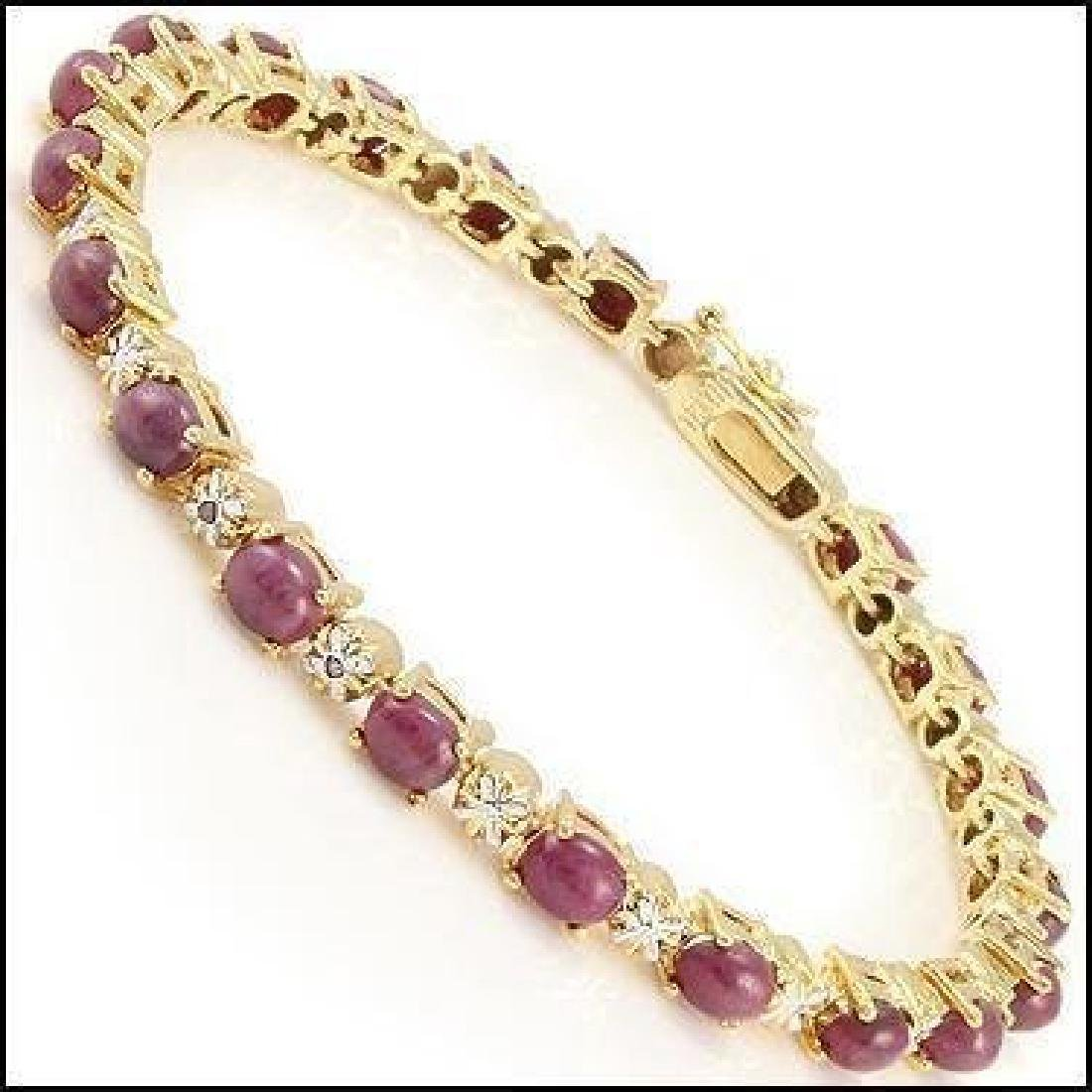 Fine Jewelry Sale 11.88 Ct Ruby & Diamond Bracelet