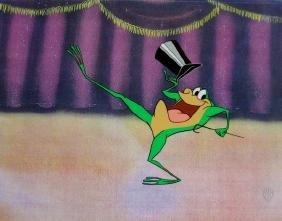 Warner Bros MICHIGAN J. FROG Animation Sericel