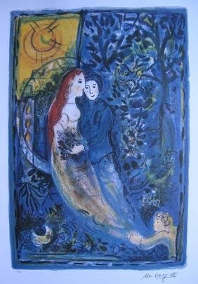 Marc Chagall WEDDING Limited Ed. Lithograph