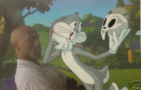 BUGS BUNNY MICHAEL JORDAN TO PLAY OR NOT TO PLAY