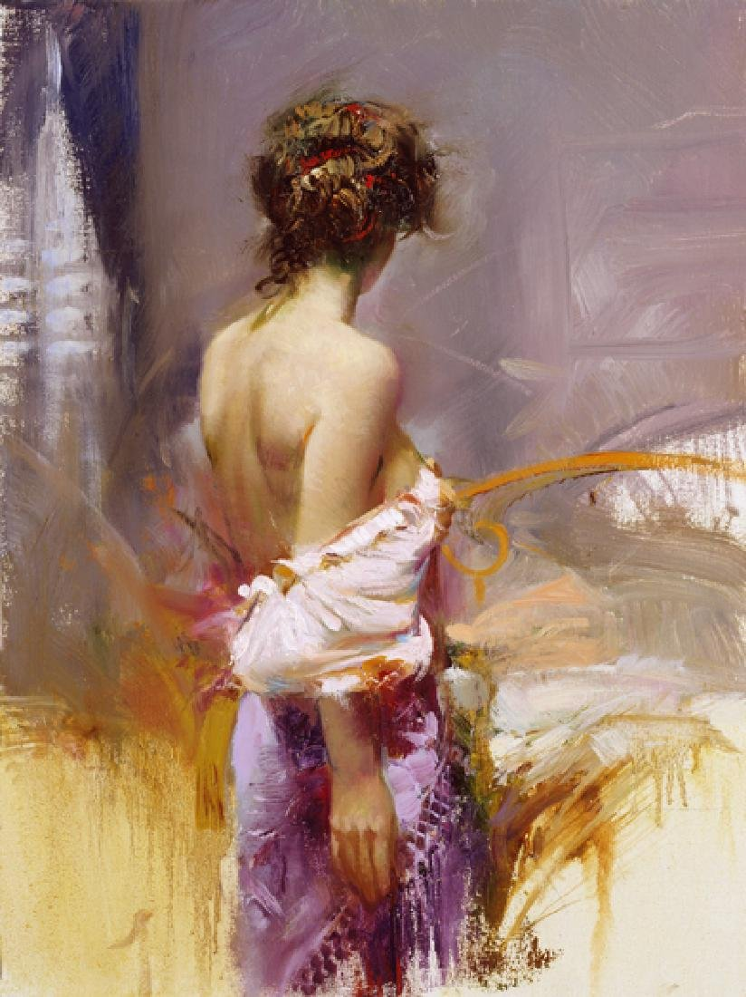 "Pino ""Twilight"" Ltd Ed. Giclee on Canvas"