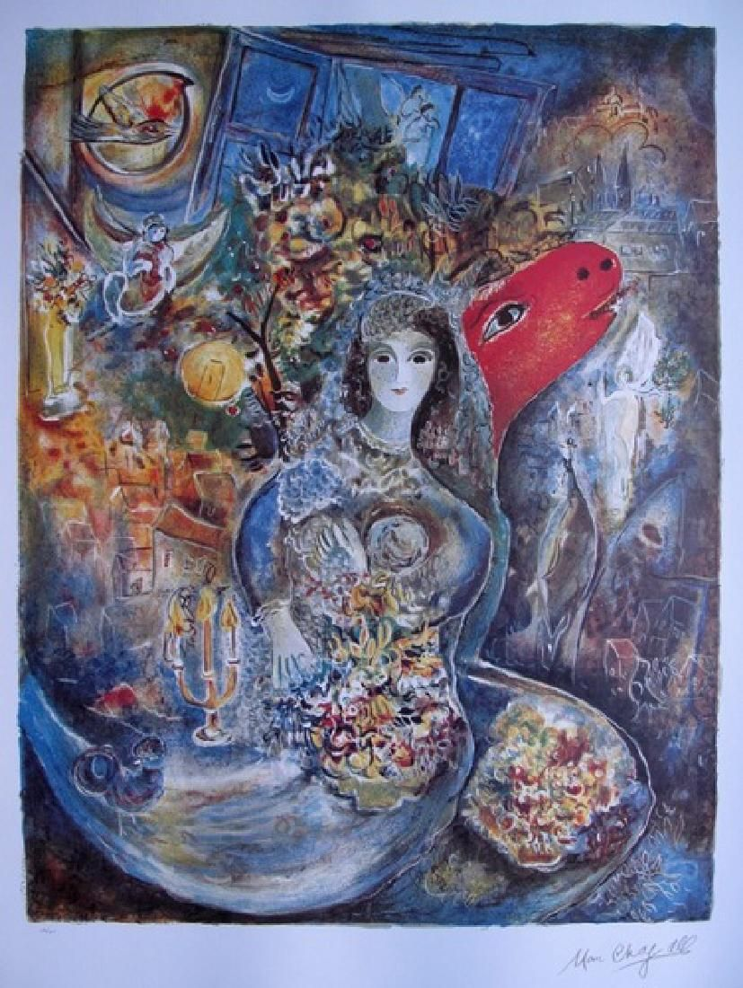Marc Chagall BELLA Limited Ed. Lithograph