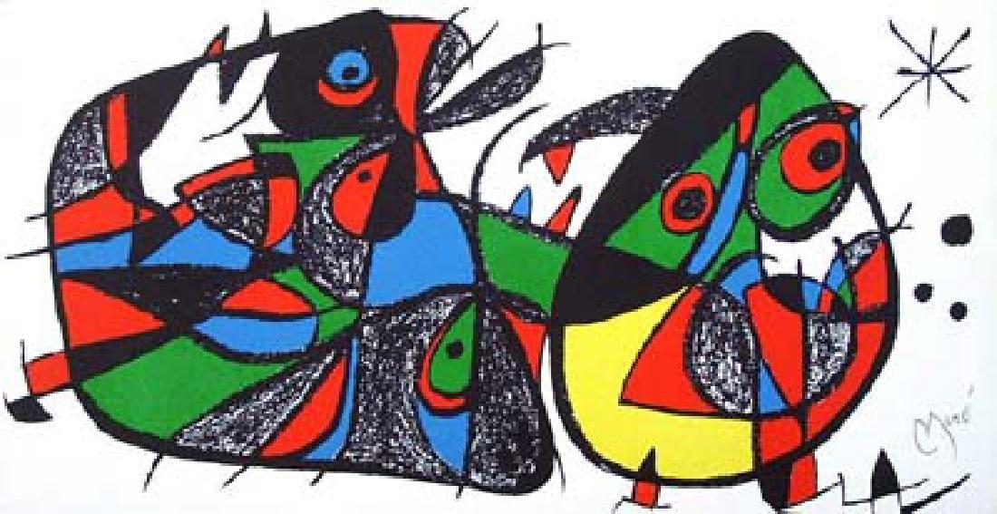 Joan Miro ESCULTOR SUITE ITALY Lithograph