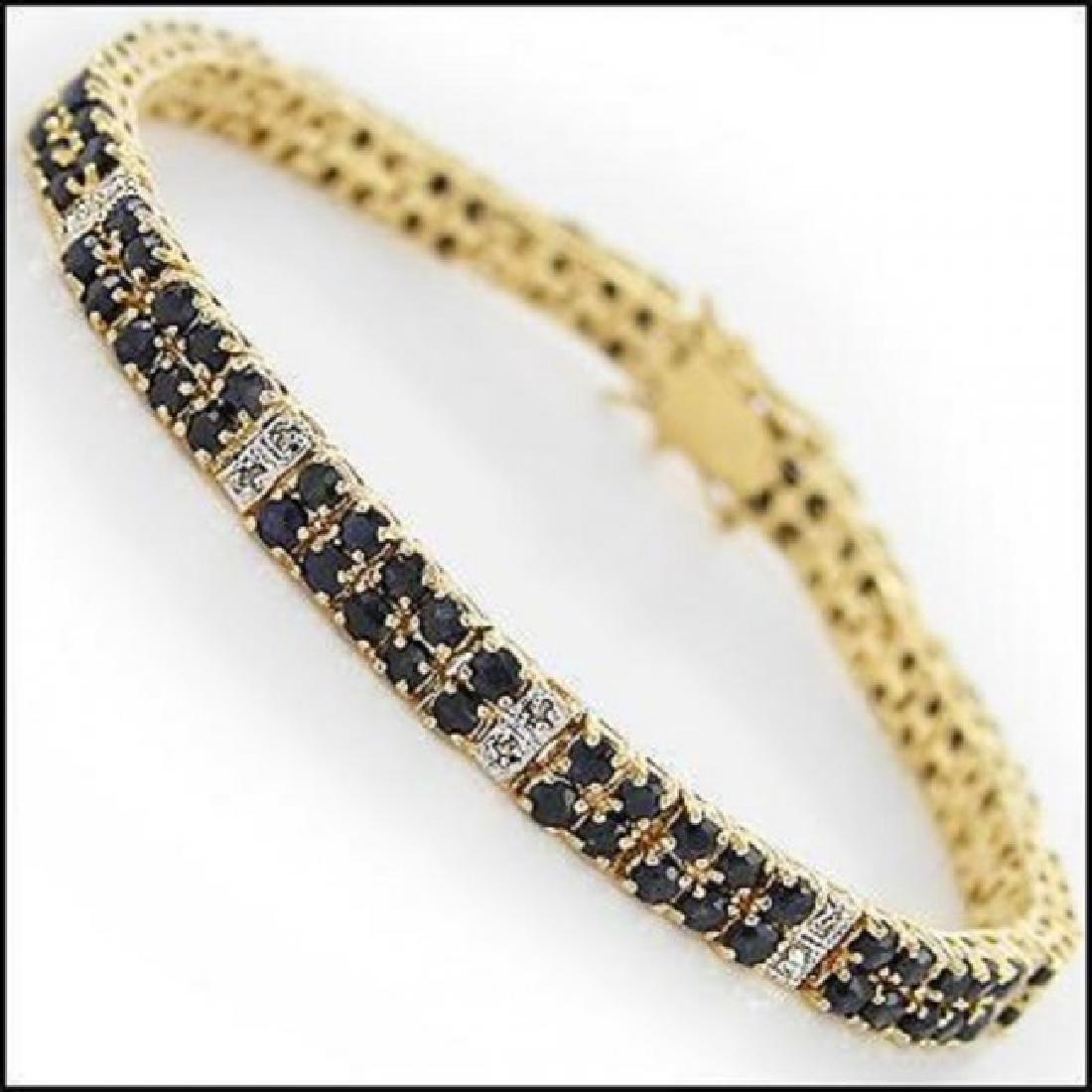 Jewelry Sale 17.69 CT Sapphire & Diamond Bracelet