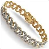 097 CTW Diamond Designer Fine Bracelet