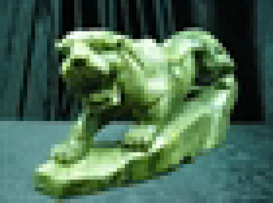 Green Jade Running Tiger - 2