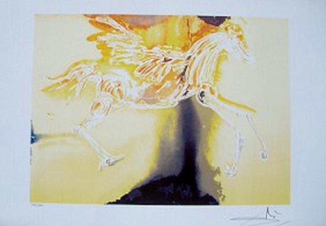 Dali Lithograph PEGASUS
