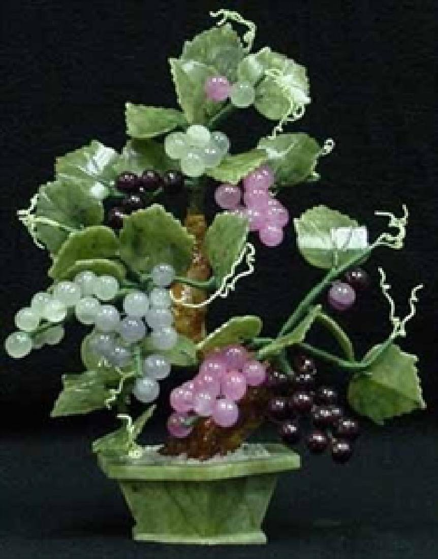 REAL JADE GRAPES TREE