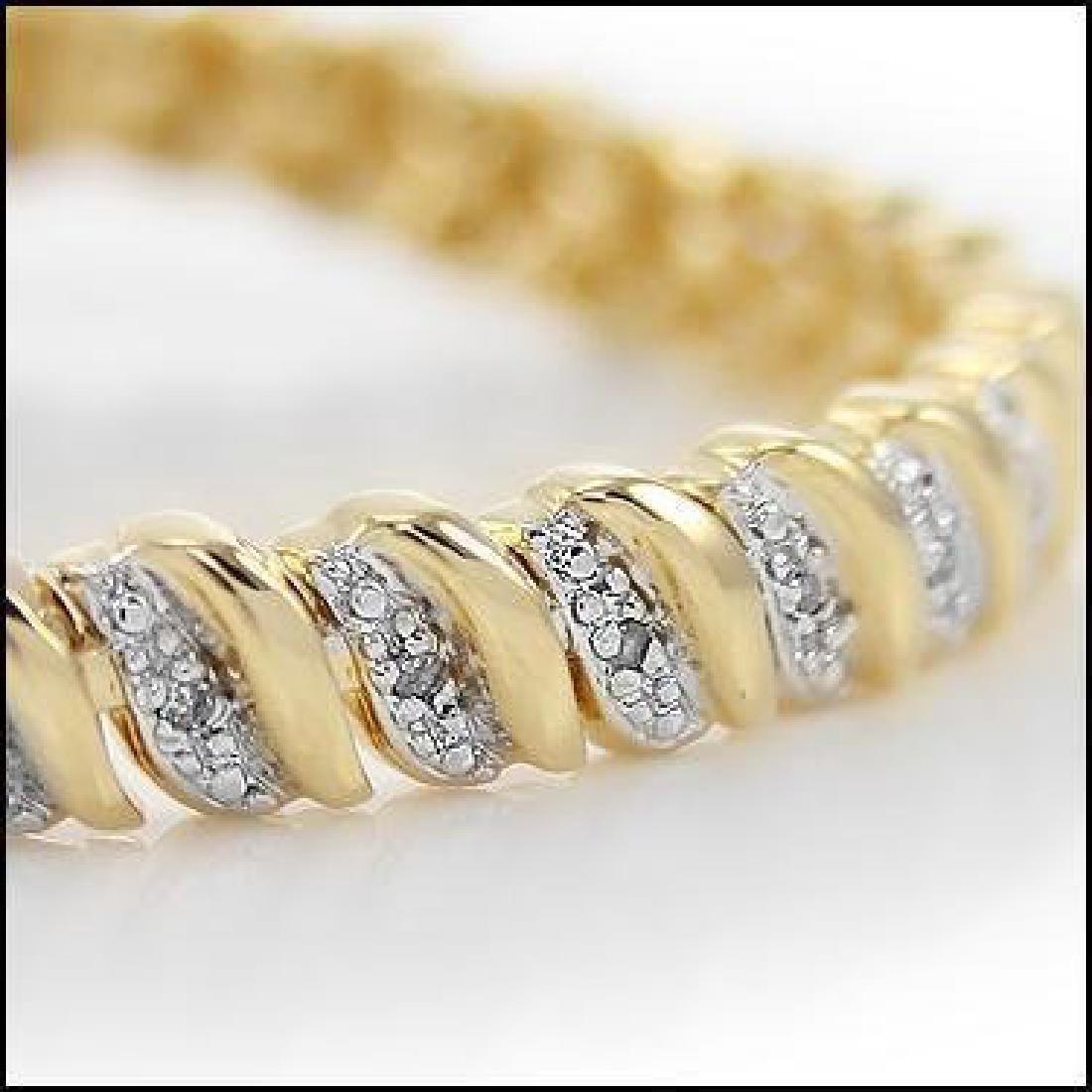 1.75 CTW Diamond Tennis Bracelet - 2