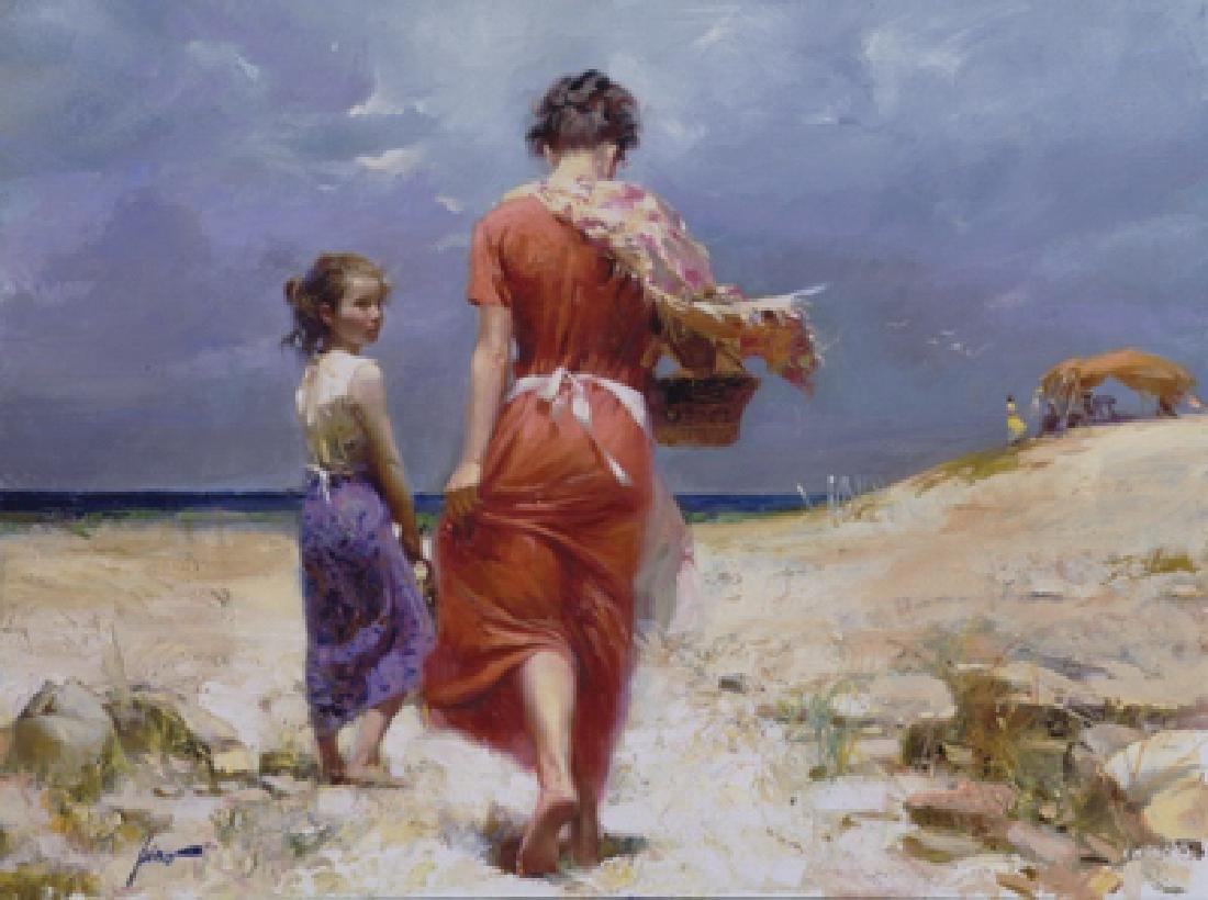 "Pino ""SUMMER RETREAT"" Ltd Ed. Giclee on Canvas"