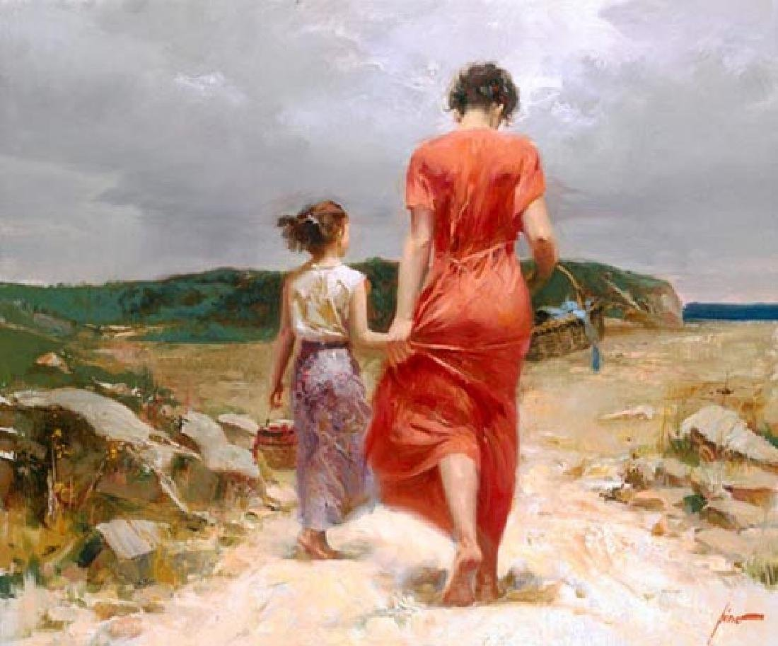 "Pino ""Homeward Bound"" Ltd Ed. Giclee on Canvas"