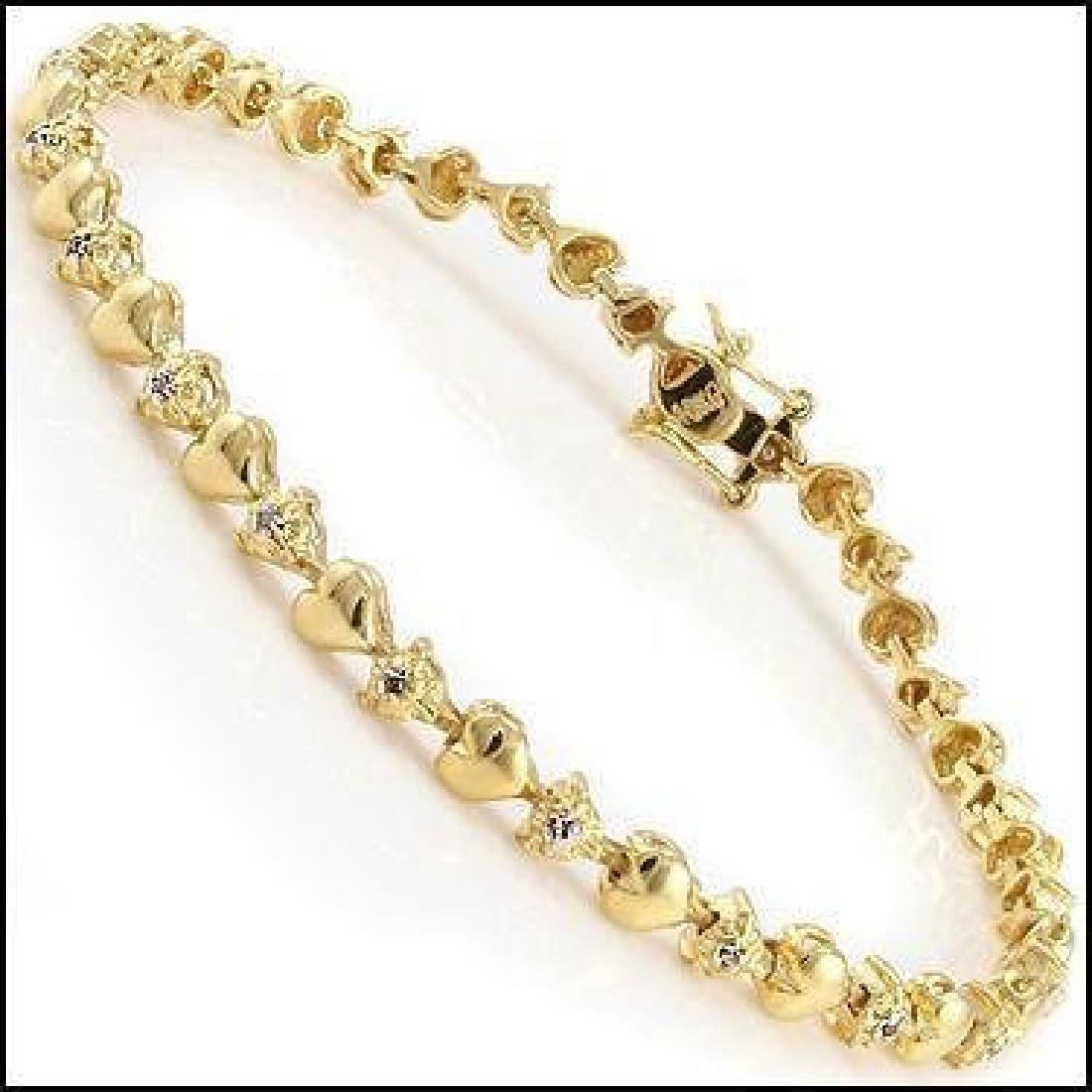 Jewelry Sale 0.69 CT Diamond Designer Bracelet