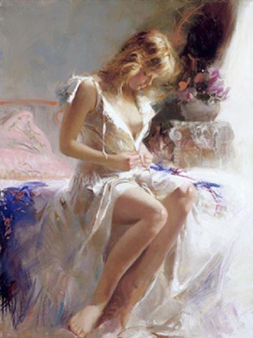 """Pino """"EARLY MORNING"""" Ltd Ed. Giclee on Canvas"""