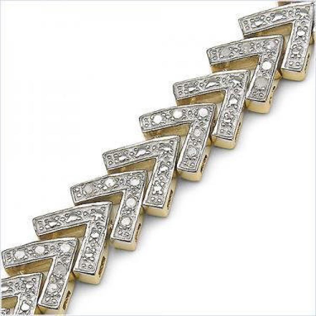 1.23 CTW Diamond Designer Bracelet - 2