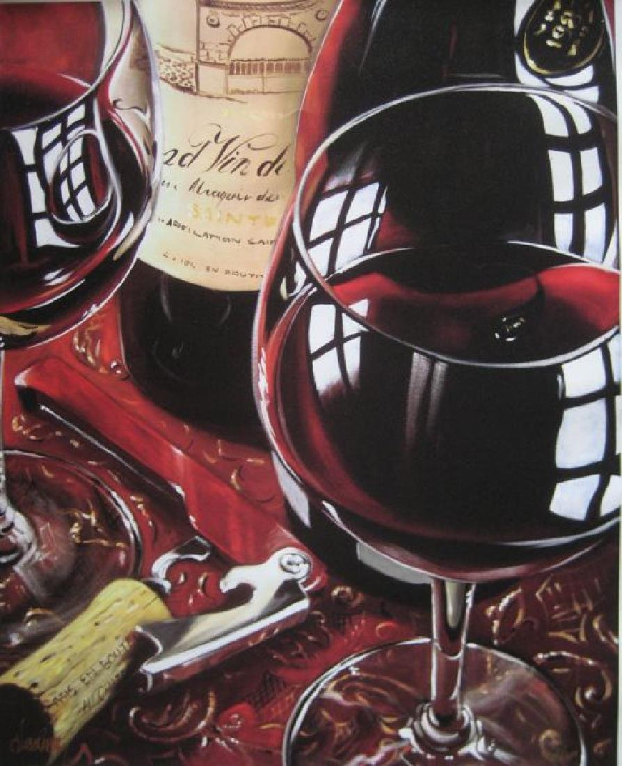 Victor Ostrovsky SIMPLY RED Ltd Ed. Giclee