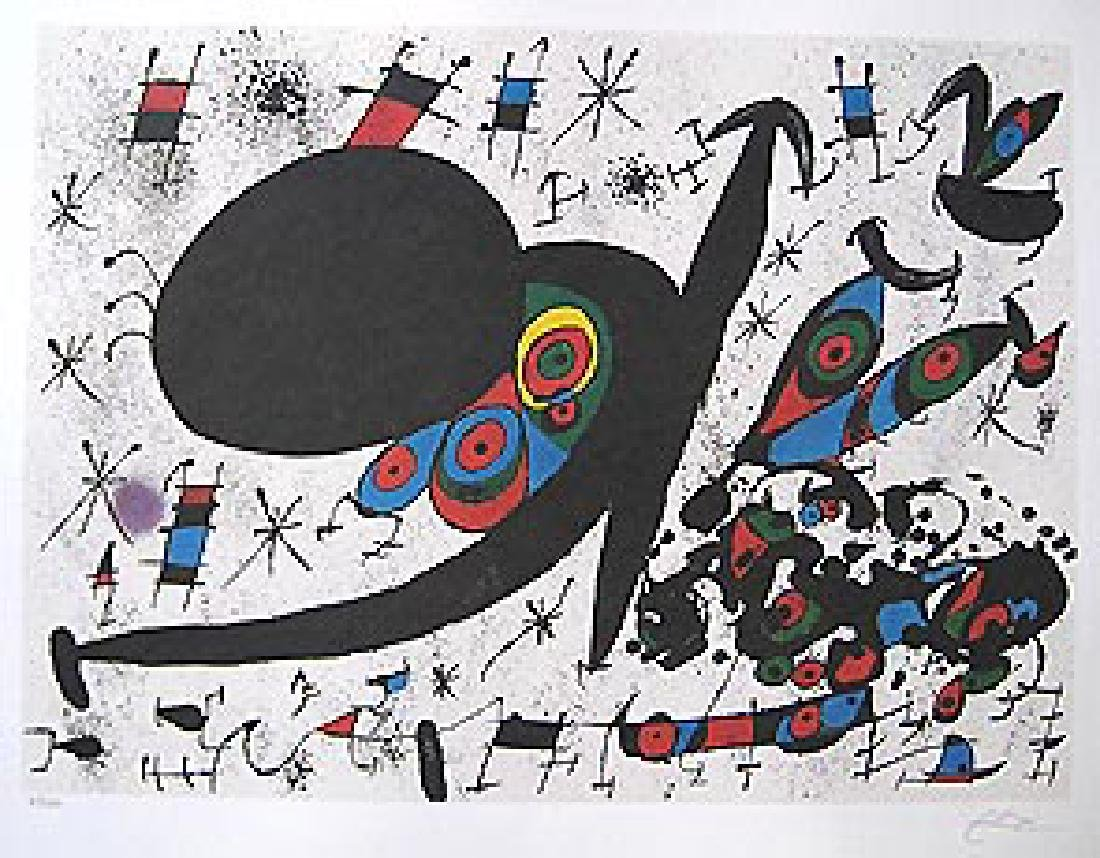 Joan Miro HOMAGE TO JOAN PRATS