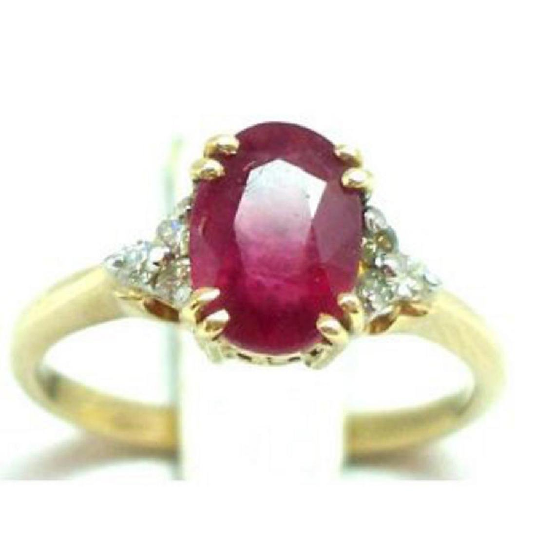 Ruby and Diamond Ring - Appraised at $7,560