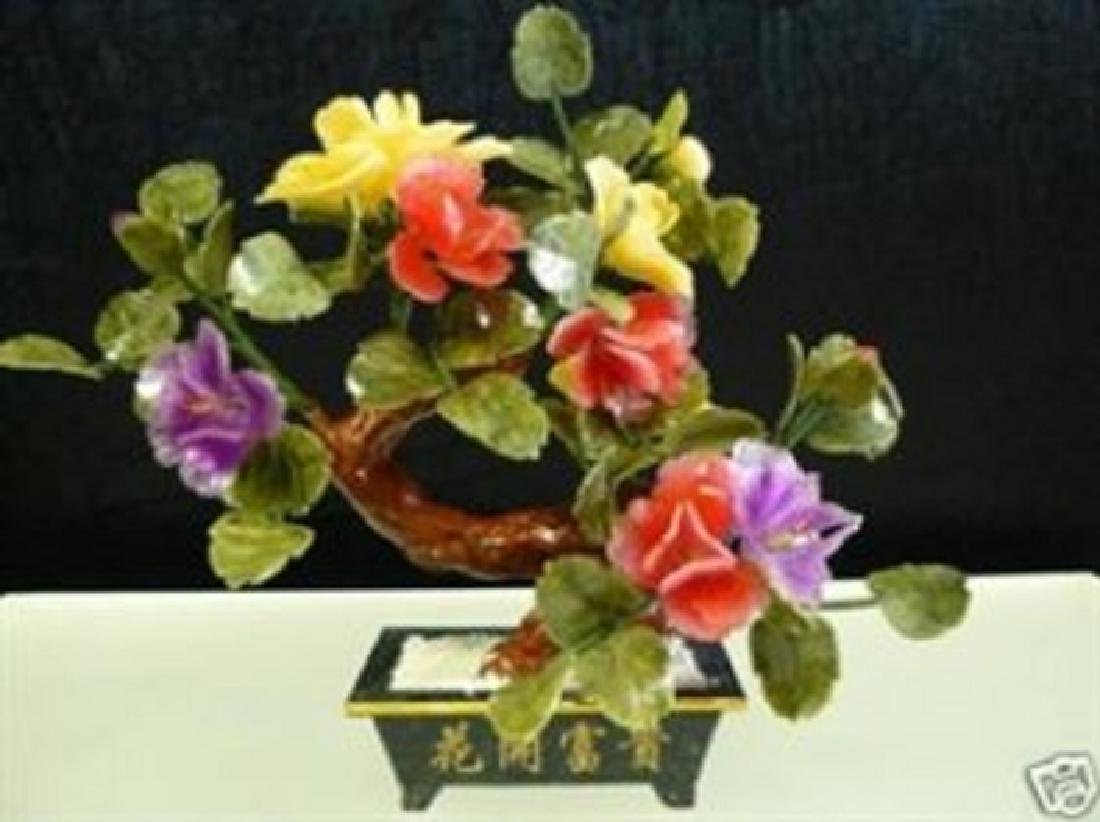 REAL JADE BONSAI FLOWER