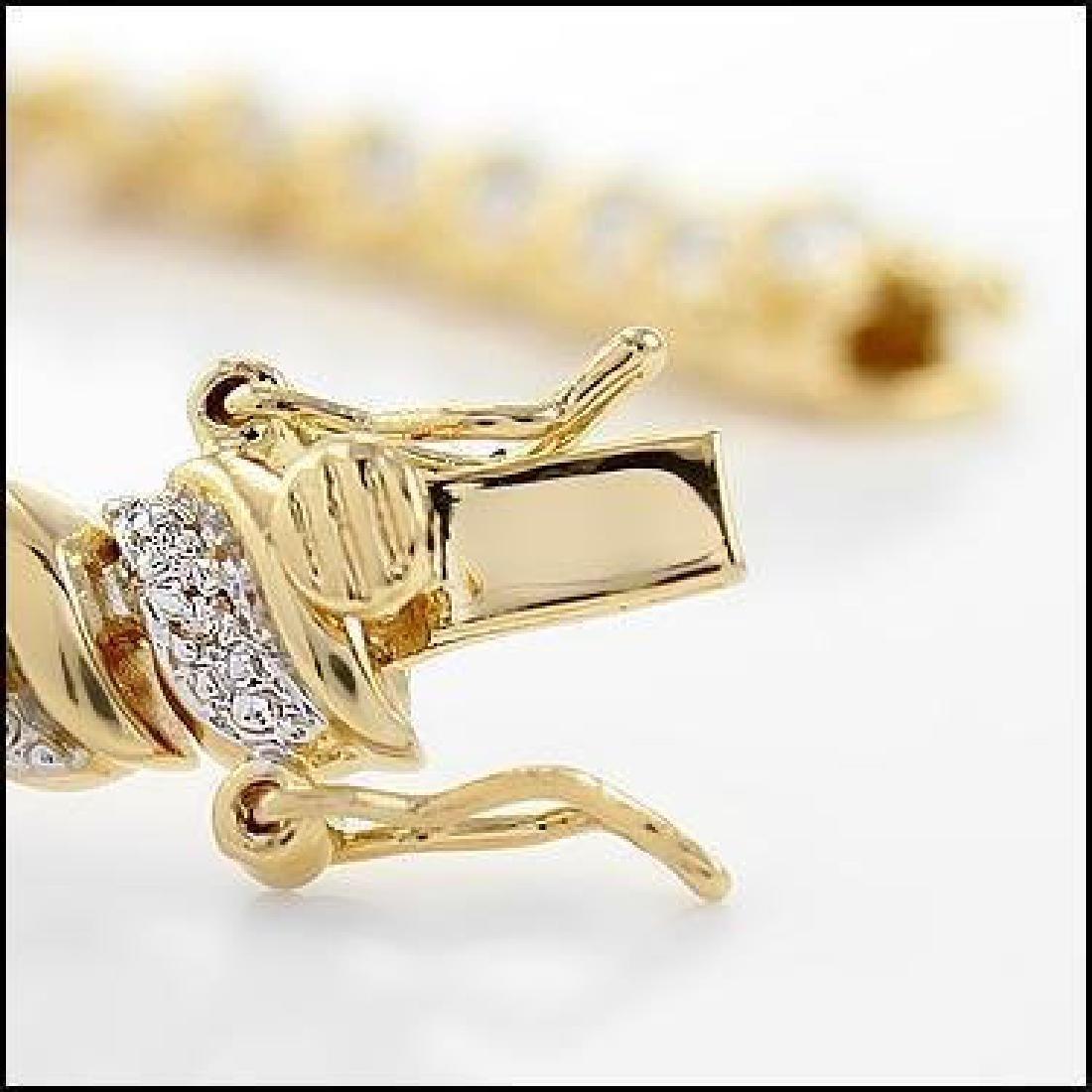 1.75 CTW Diamond Tennis Bracelet - 4