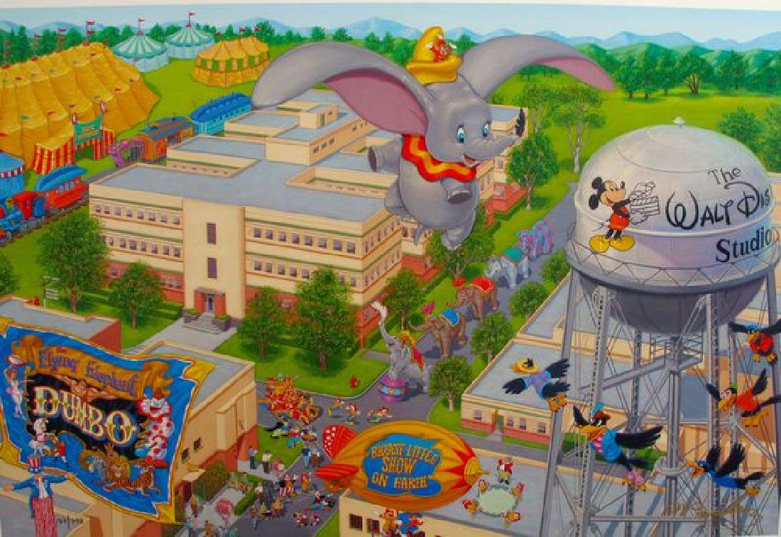 """MANNY HERNANDEZ DISNEY """"A DAY AT THE STUDIO"""" Hand"""