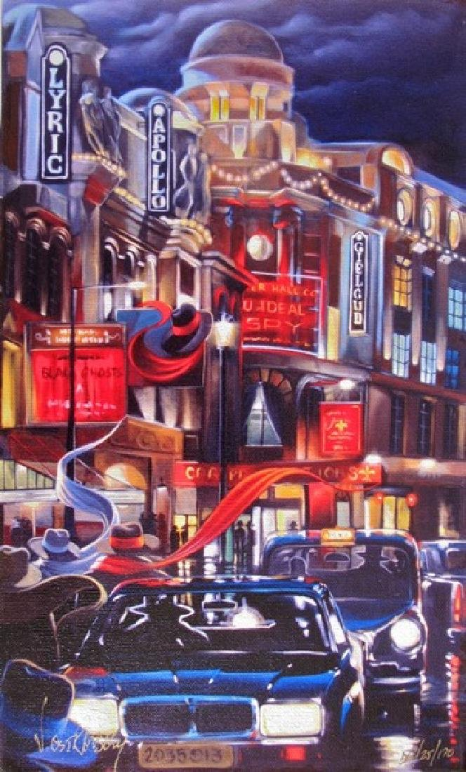 Victor Ostrovsky LONDON CONTACT Ltd Ed. Giclee on