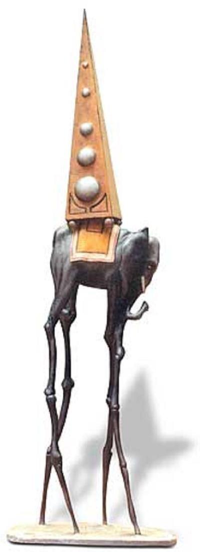 Salvador Dali SPACE ELEPHANT Sculpture