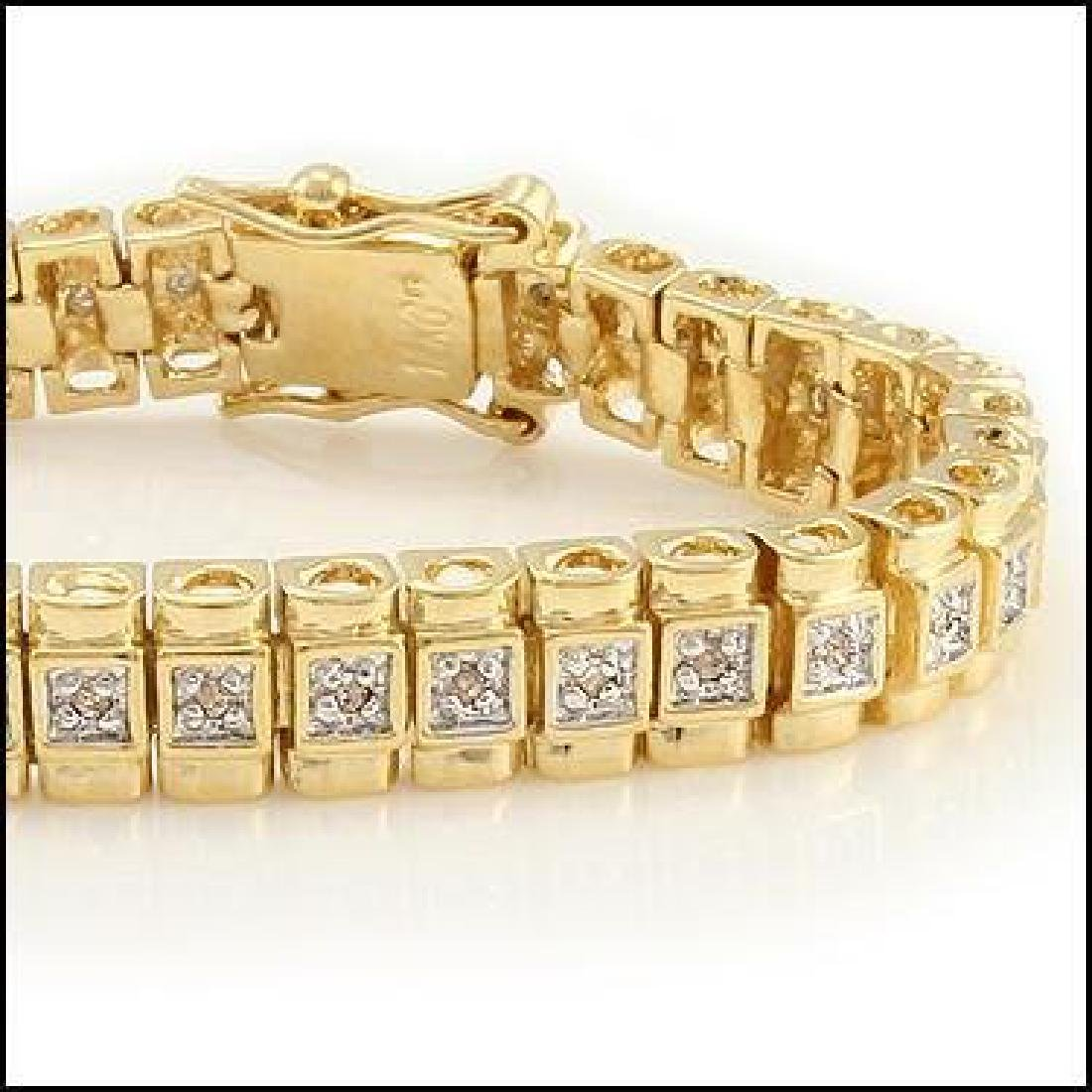 1.01 CTW Diamond Designer Fine Bracelet - 2