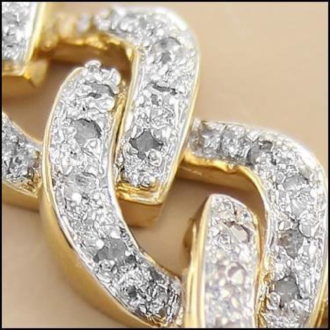 0.97 CTW Diamond Designer Fine Bracelet - 2