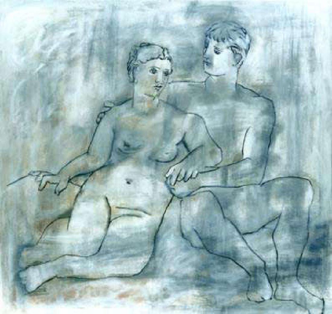 Picasso - THE LOVERS Picasso Estate Signed Giclée