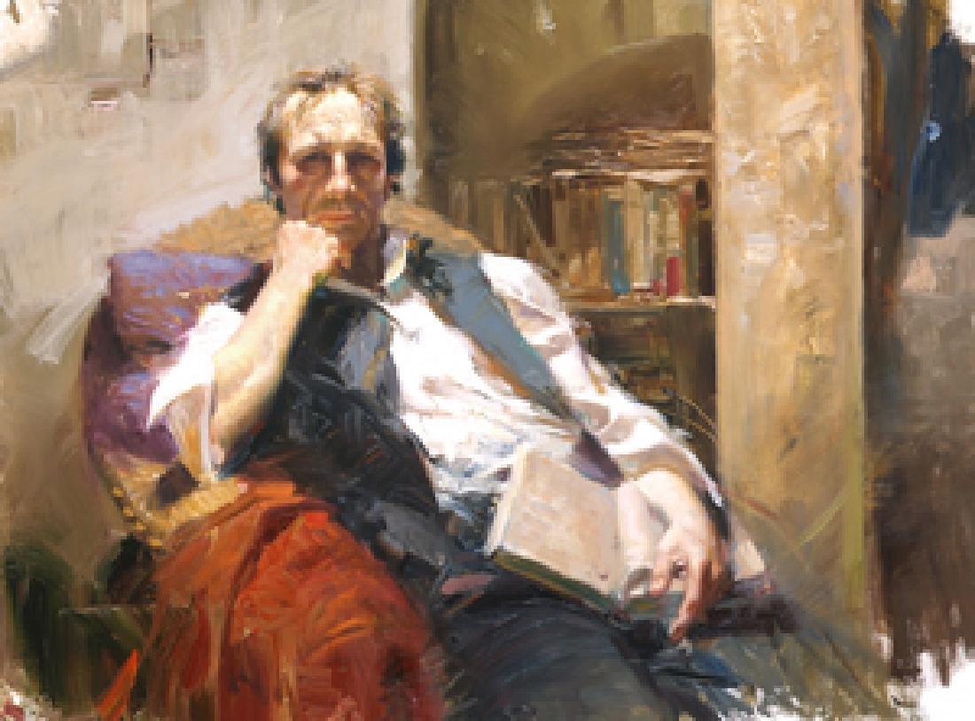 "Pino ""Professor"" Ltd Ed. Giclee on Canvas"