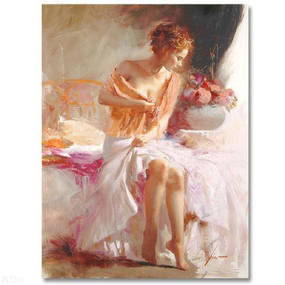 "Pino ""SPRING FLOWER"" Ltd Ed. Giclee on Canvas"