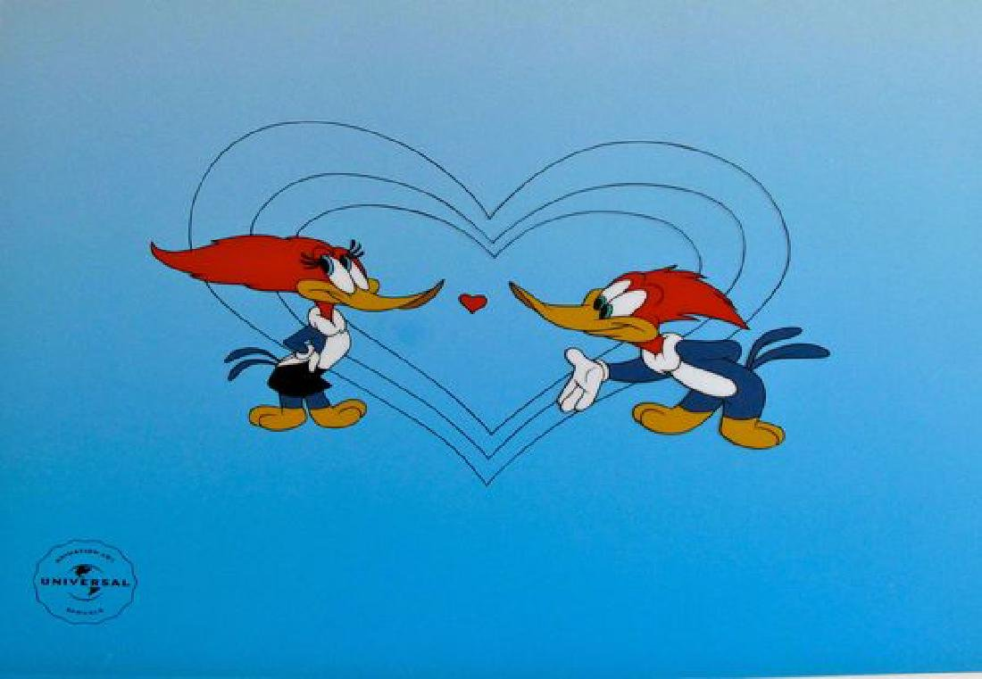 Lovebirds, Winnie and Woody Woodpecker Limited Edition