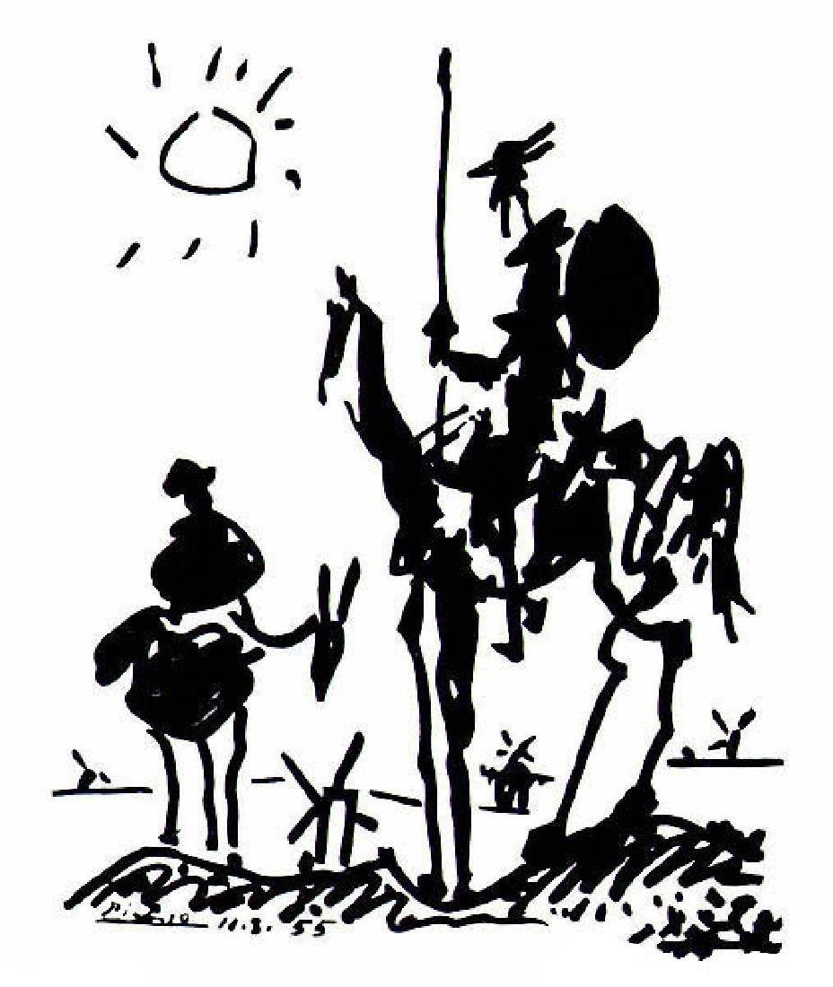 Picasso Lithograph Don Quixote