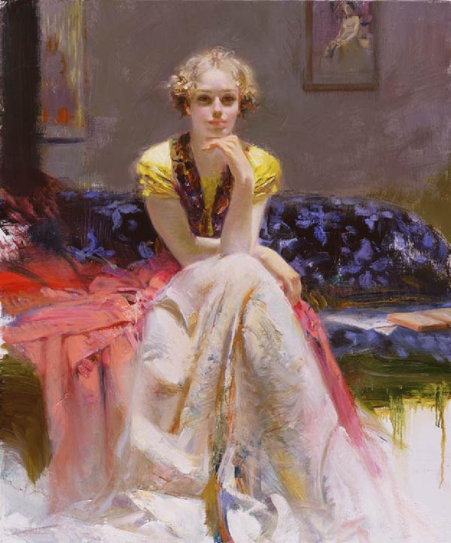 "Pino ""ENCHANTMENT"" Ltd Ed. Giclee on Canvas"