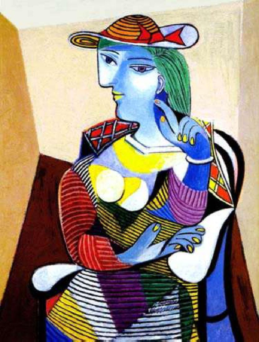 PORTRAIT OF MARIE-THERESE WALTER Picasso Estate Signed