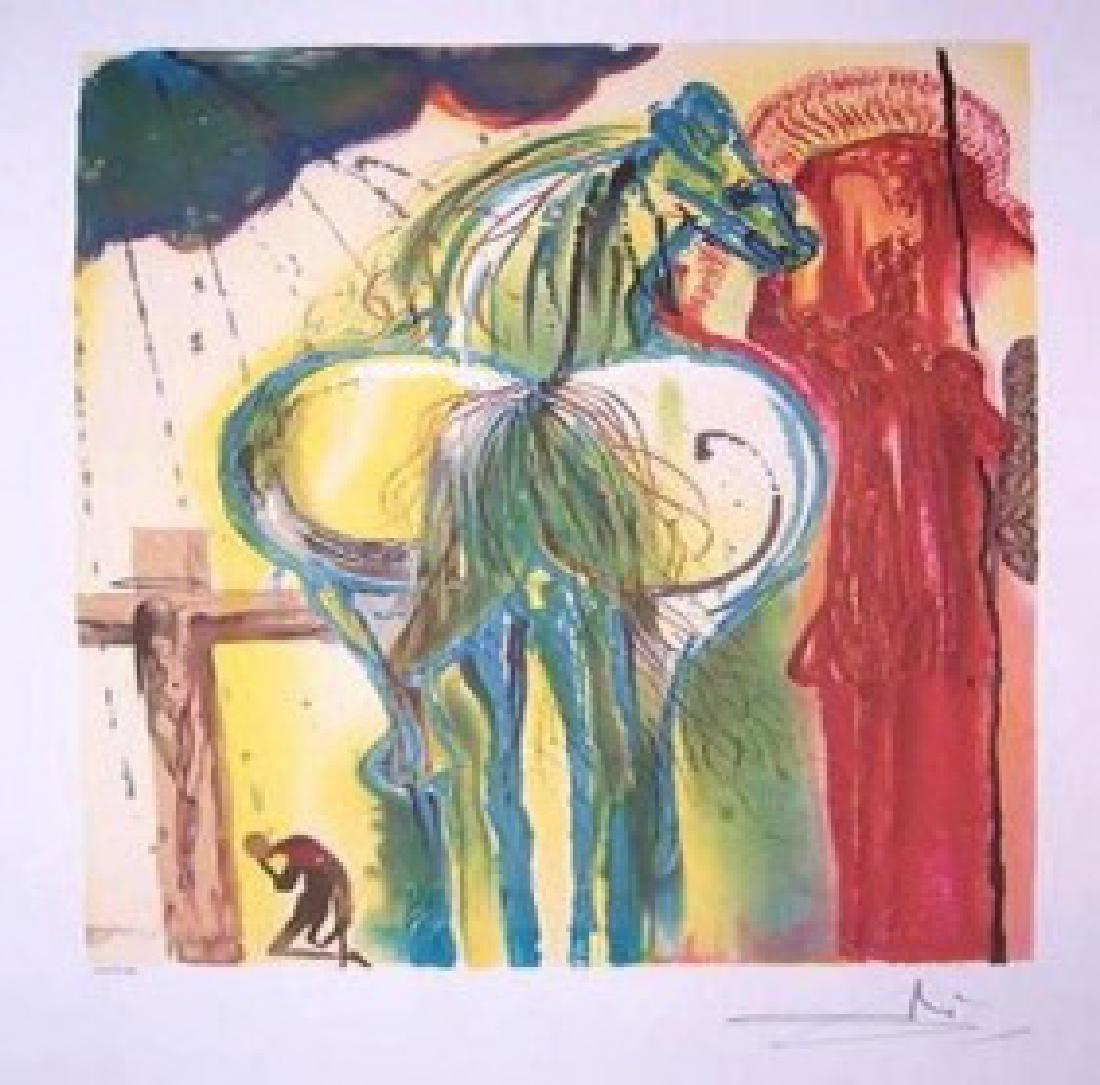 Dali Lithograph CENTURION