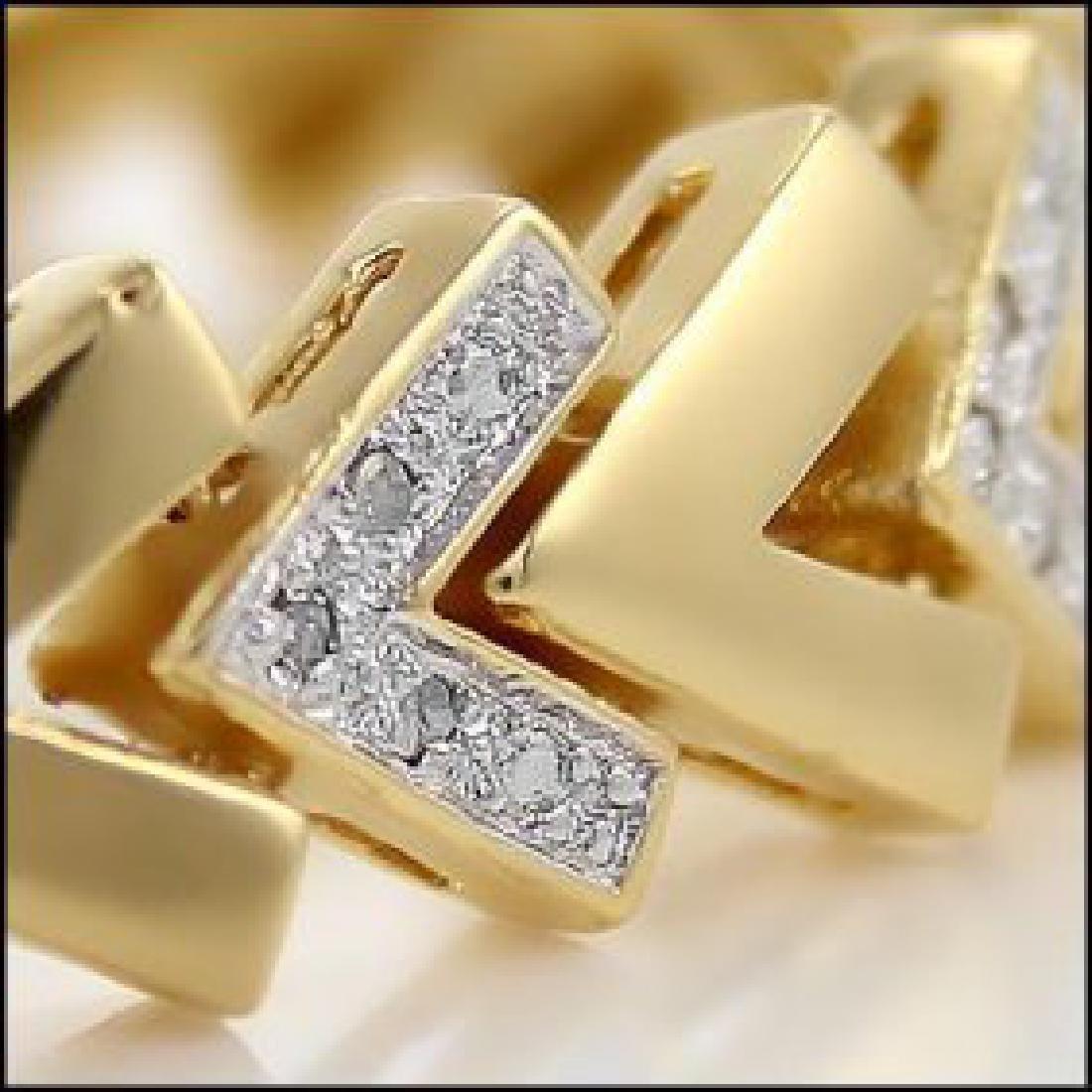 0.92 CTW Diamond Fine Designer Bracelet - 2