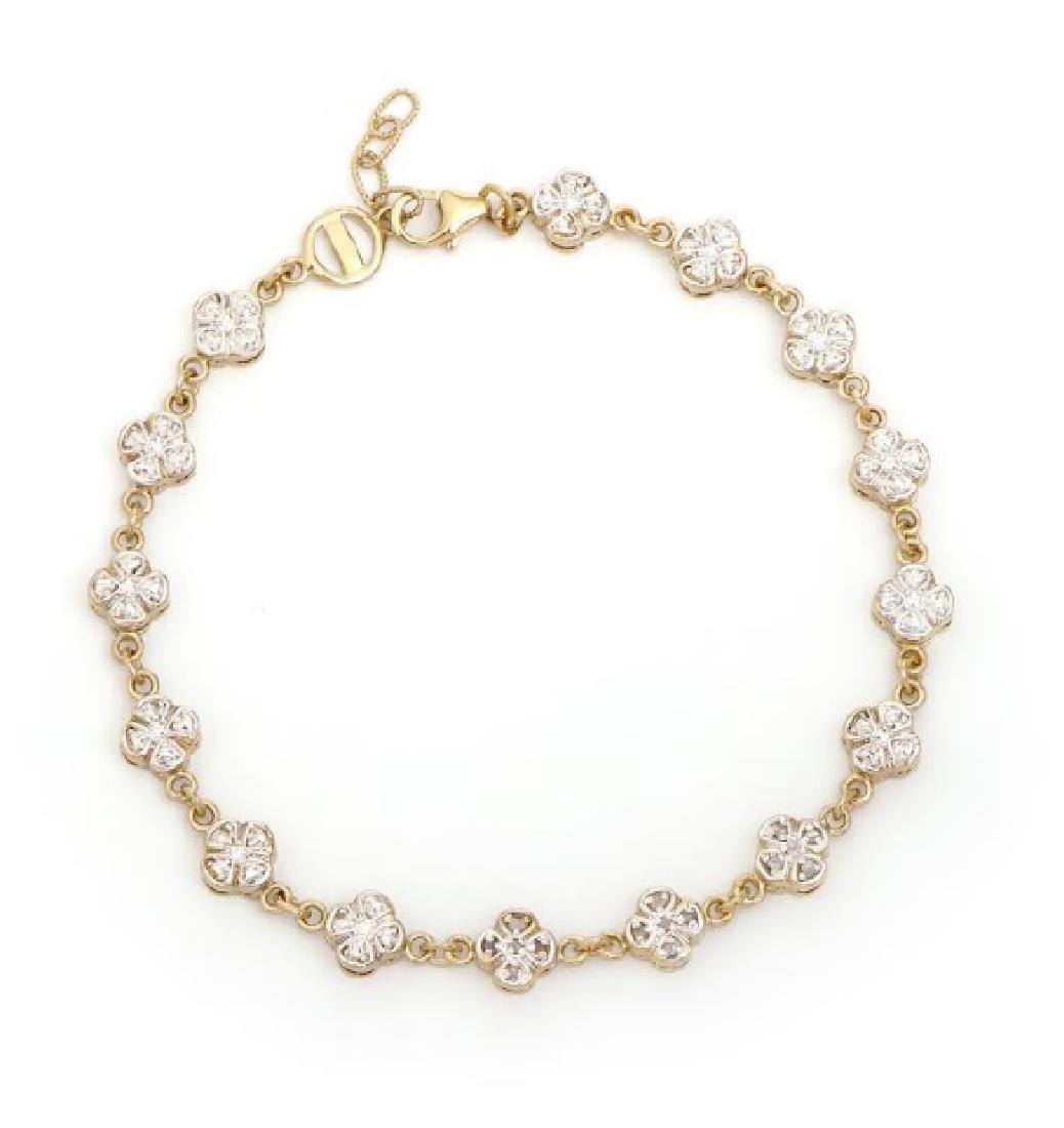 0.68 CT Diamond Designer Bracelet $1,565