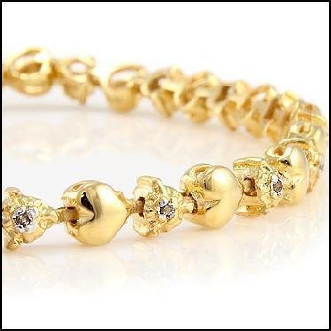 Jewelry Sale 0.69 CT Diamond Designer Bracelet - 2